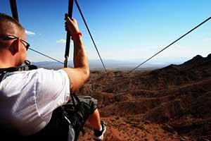Bootleg Canyon Zipline in Boulder City