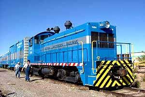 Nevada Southern Railroad in Boulder City