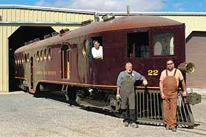 Photo courtesy State Railroad Museum