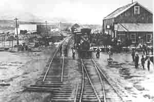 Elko was born with the railroad in 1869