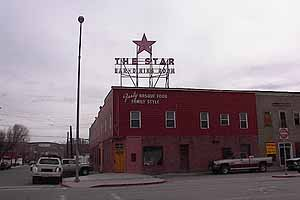 The Star Hotel on Silver Street is one of Elko's famous Basque restaurants