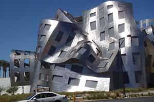 Melting building, Las Vegas