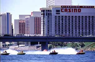 Laughlin boat race