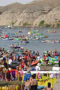The Mardi Gratta River Regatta