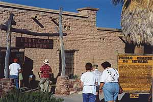 The Lost City Museum in Overton, NV
