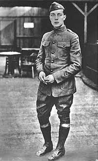 No, it's not Corporal Murphy, it's Buster Keaton in a WWI Army uniform.
