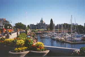 No, it's not the Sparks Marina it's the beautiful city of Victoria BC Canada, home of good tippers.
