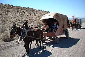 21st Century Wagon Train, Tonopah-bound.