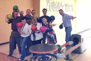 Nugget Bowl, Some of these people actually bowled