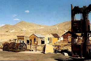 Tonopah Mining Park at the Central Nevada Museum