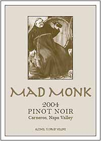 Mad Monk Pinot Noir
