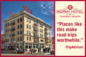 The Mizpah Hotel in Tonopah Nevada