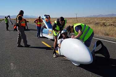 IHPV World Human Powered Speed Challenge at Battle Mountain Nevada