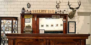 The Halleck Bar at the Northeastern Nevada Museum