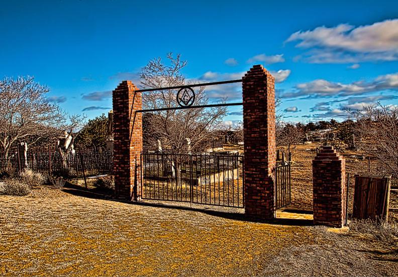 Silver Terrace Cemeteries, Virginia City