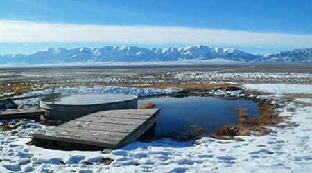 Spencer's Hot Springs, US Highway 50 in Nevada