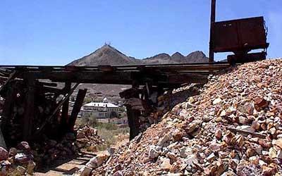 Tonopah Historic Mining Park. Tonopah Nevada