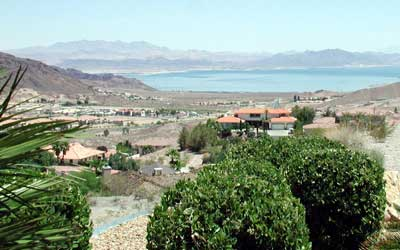 Hemenway Valley overlooking Lake Mead, Boulder City Nevada