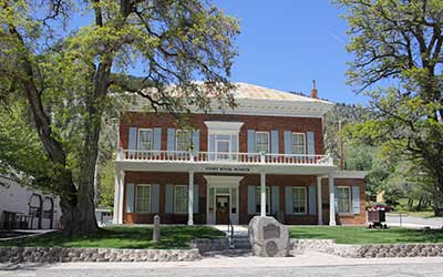 Courthouse Museum, Gnoa Nevada