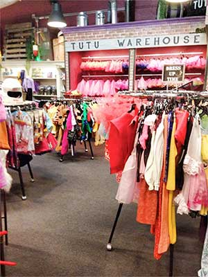 Tutu Warehouse, Reno Nevada
