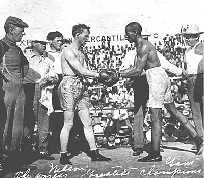 Gand-Nelson 1906 Lightweight Championship of the World