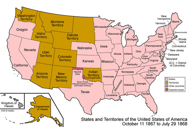 Nevada was the 36th state to join the Union, admitted October 31, 1864 with the signature of Abraham Lincoln.
