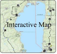 Tahoe Rim Trail Interactive Map