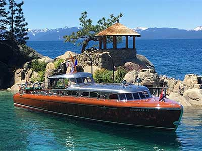 Thunderbird Yacht, Lake Tahoe Nevada