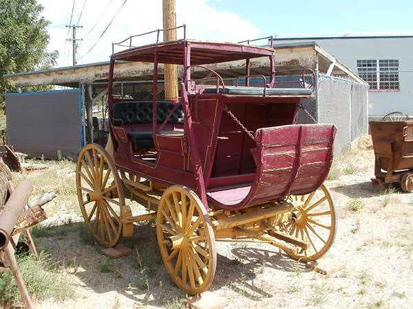 Stagecoach at White Pine Public Museum, Ely Nevada