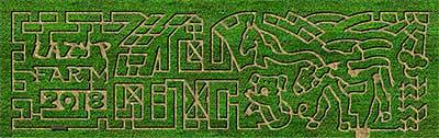 2018 Lazy P Corn Maze