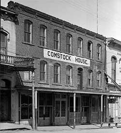 Comstock House, C Street Virginia City Nevada