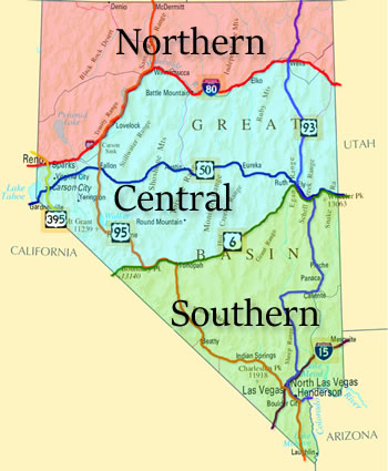 Visit Nevada\'s Cities on The Nevada Travel Network