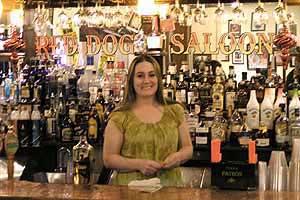 Red Dog Saloon Bar, Virginia City Nevada