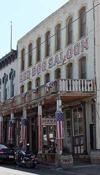 Red Dog Saloon, Virginia City Nevada