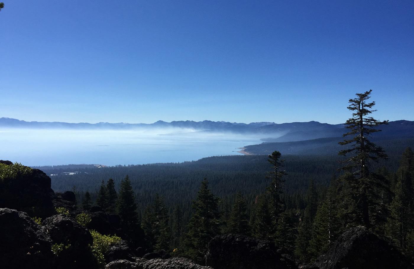 Tahoe Rim Trail, Stateline at Lake Tahoe