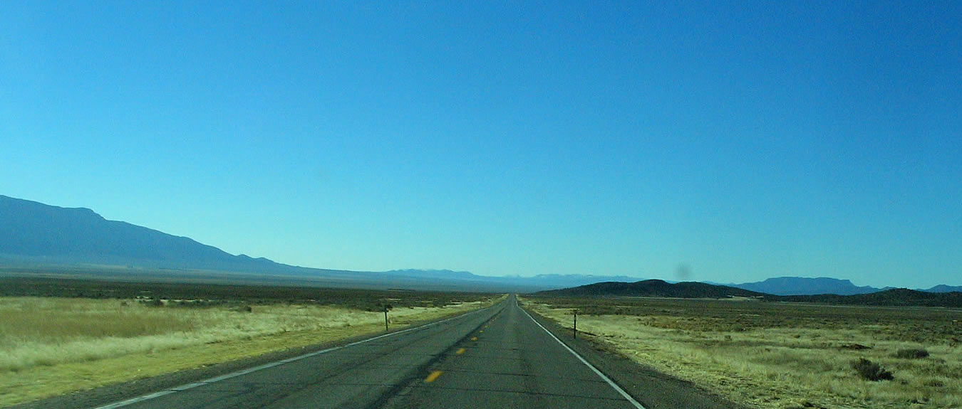 Travel Nevada on US 93