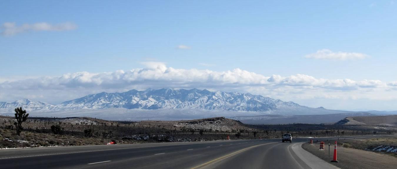 Travel Nevada on US 95