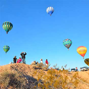 Balloon estival in Mesquite Nevada
