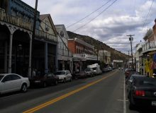 C Street in Virginia City NV