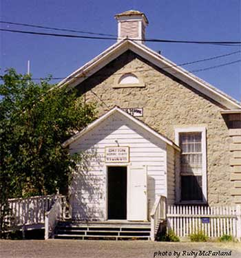 Dayton Museum and historic schoolhouse in Dayton Nevada
