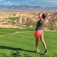 Golf is big in Mesquite Nevada