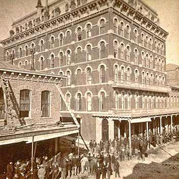 International Hotel - 1876 Virginia City, NV