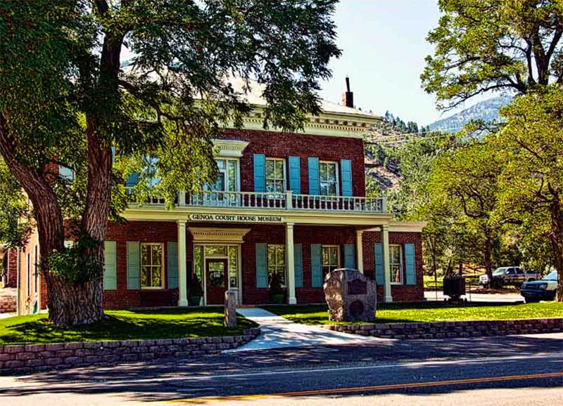 Courthouse Museum, Genoa Nevada