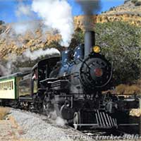 V&T Railroad, Virginia City