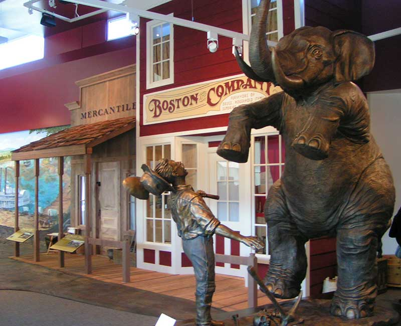 See the Elephant at the California Trail Center, Elko