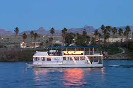 Cruise boat on the Colorado River, Laughlin Nevada
