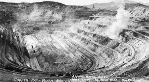 Copper mine, Ruth Nevada