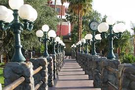 The River Walk on the Colorado River at Laughlin Nevada