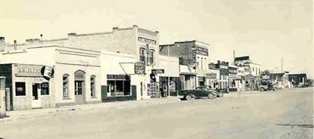 1930s Front Street, Wells Nevada