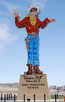 Wendover Will, Wendover Nevada